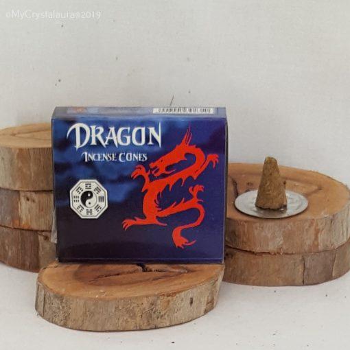 Dragon Incense Cones
