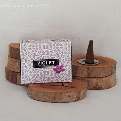 Violet Incense Cones