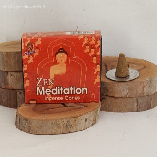 Zen Meditation Incense Cones