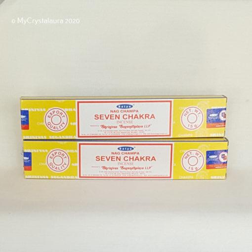 Seven Chakra Incense